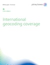 International Geocoding Coverage